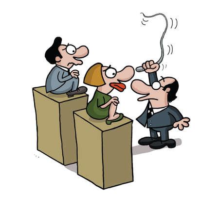 Training people Illustration