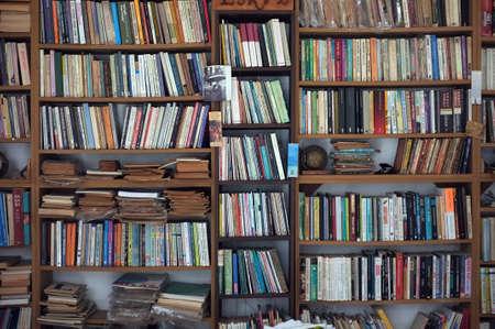 Digitally created bookcase