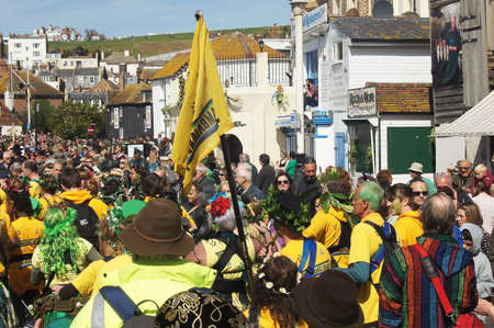 hastings: Jack the Green Festival in Hastings, UK