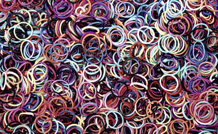 Abstract background with colourful rings