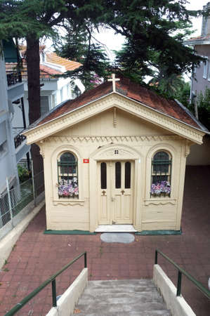 Little church in one of the islands of Istanbul