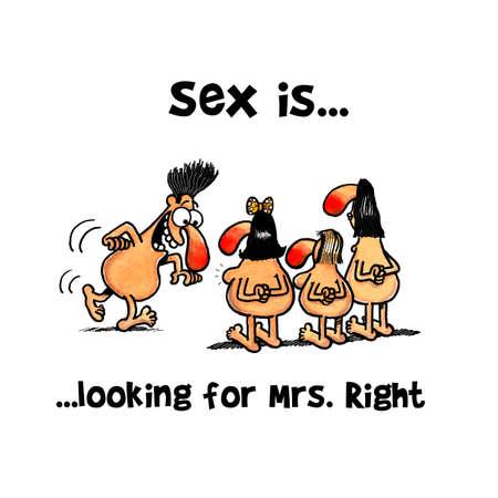 Man is selecting Mrs right amongst three women Zdjęcie Seryjne