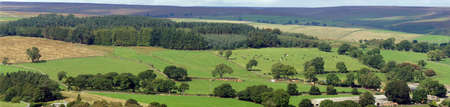 Panoramic landscape in Yorkshire Zdjęcie Seryjne