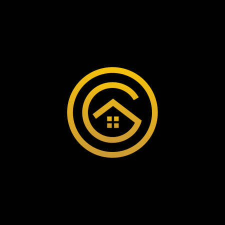 Home logo that formed letter R and the letter O