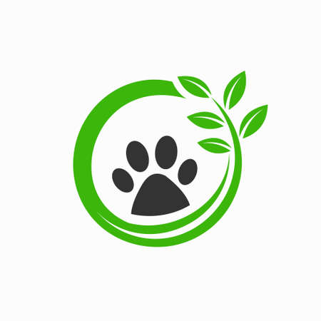 natural animal treatment logos Archivio Fotografico - 149345436