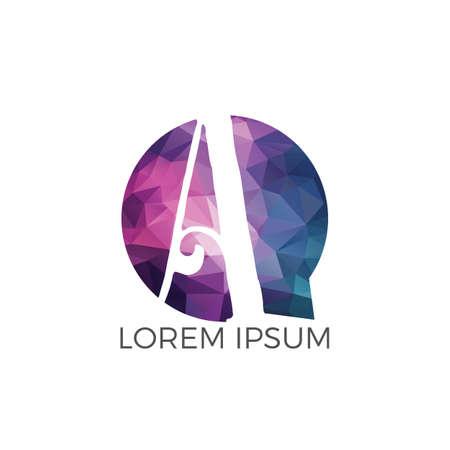 Letter A logo design. Initial letter A business logo design. Premium quality logo. Logo
