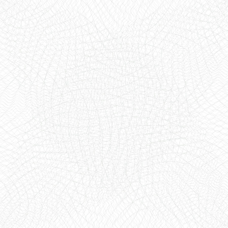 Guilloche background. Monochrome guilloche texture with waves. Original money pattern. For certificate, voucher, banknote, money design, currency, note, check, ticket, reward etc. Stok Fotoğraf - 69113077