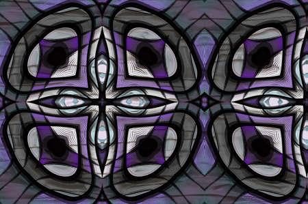 Abstract Maze Tile