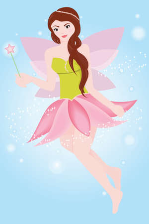 Fairy princess Illustration