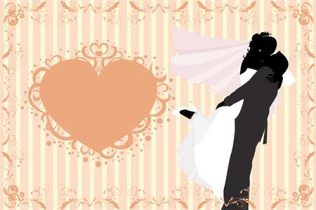 Ilustración de la celebración de la boda Foto de archivo - 8312987