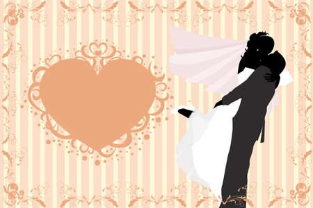 illustration of wedding celebration Vector