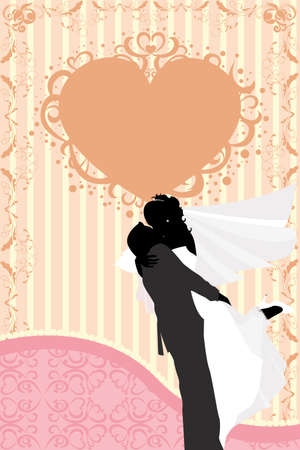 illustration of wedding celebration Vector