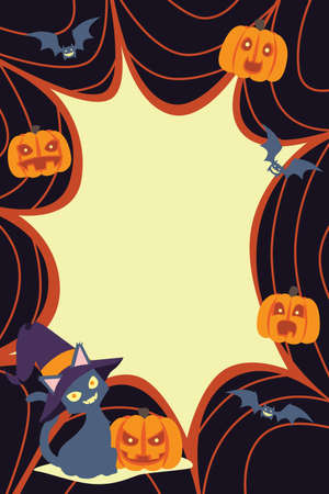 A illustration of Halloween background Vector