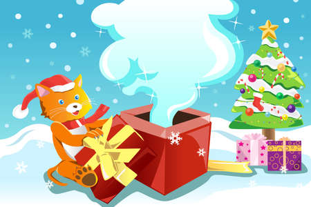 A vector illustration of a Christmas design Vector