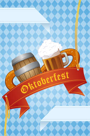 A vector illustration of Oktoberfest banner design Stock Vector - 21728487