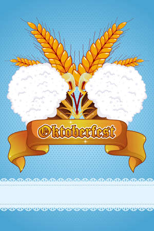 A vector illustration of Oktoberfest banner design Vector