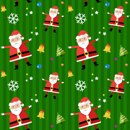 A vector illustration of Christmas background design Vector
