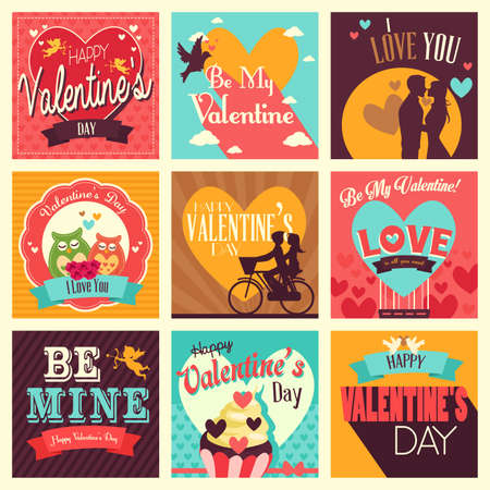 lovers: A vector illustration of valentine icon sets