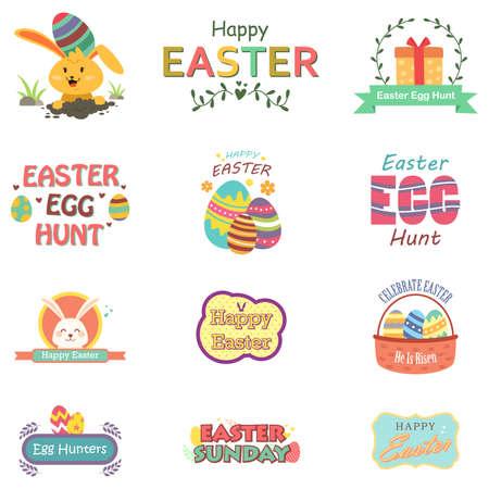 celebration: A vector illustration of Easter Sunday Celebration