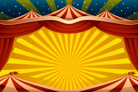 A vector illustration of a circus tent background Stok Fotoğraf - 72936134