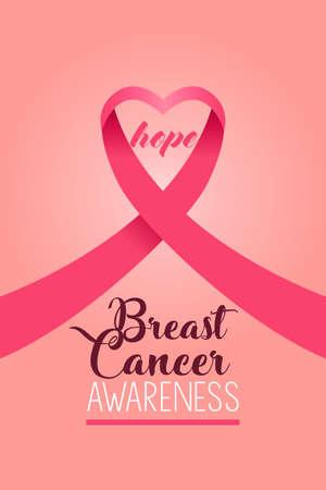 Bannière de sensibilisation au cancer du sein.