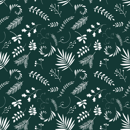 Floral seamless pattern. Art can be used for packing, wallpaper, background.