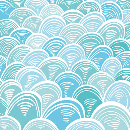 absract: Absract Sea Waves Minoan Greek Ornament