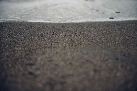 sombre: Dark Sombre Sea Gravel Stone Beach Background