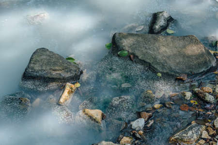 Close-up of Hydrogen Sulfide River