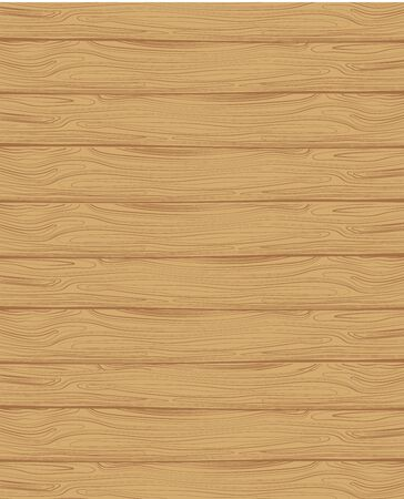 Wooden plank. Wooden wall. Illustration of a wooden board.
