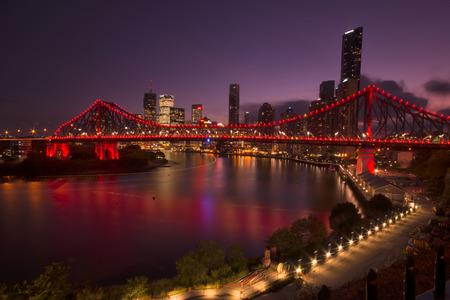 The Story Bridge in Brisbane, QLD, Australia