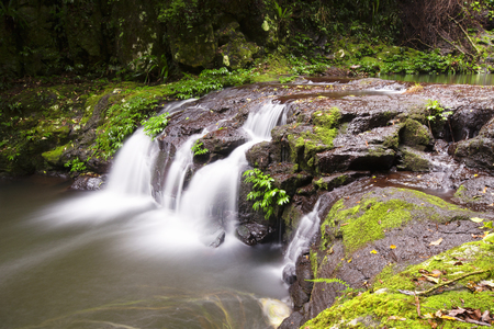 Lamington National Park  Elabana falls in the gold coast hinterlands on the nsw border  photo