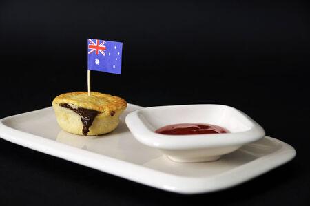 tucker: Australia Day meat pie