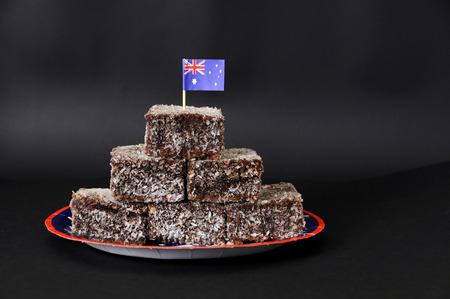 tucker: Australia Day Lamingtons