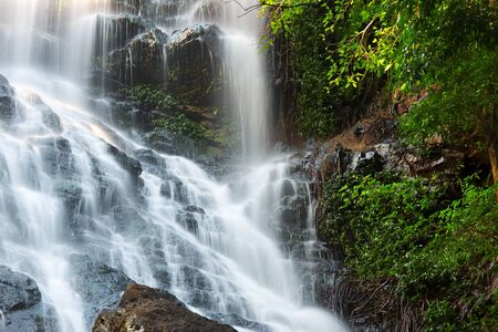 cascade range: Waterfall near Montville Sunshine Coast Hinterlands in Queensland. Stock Photo