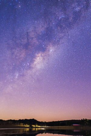 qld: Stars over Lake Moogerah on the Scenic Rim in Queensland