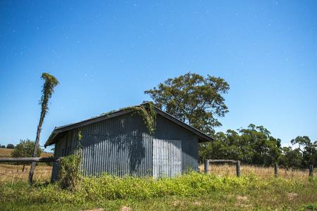 Stars in the rural area of Brisbane, Queensland, Australia. Stock Photo