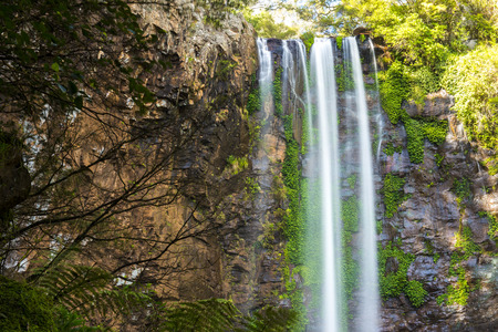 unaffected: Queen Mary falls located in the Darling Downs region of Queensland, Australia Stock Photo