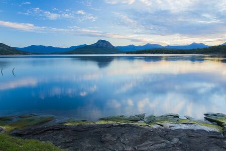 qld: Lake Moogerah on the Scenic Rim in Queensland in the early morning