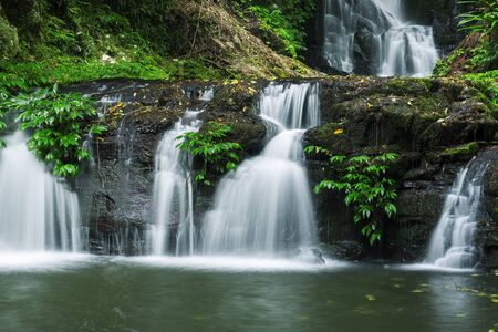 Waterfall in Lamington National Park in Queensland, Australia.