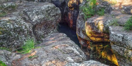glen: Killarney Glen waterfall in Queensland, Australia.