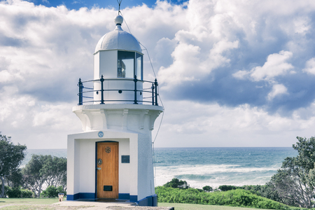 Ballina Lighthouse in New South Wales, Australia during the day. Reklamní fotografie