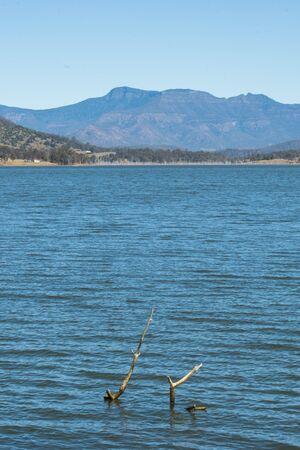 qld: Lake Moogerah on the Scenic Rim in Queensland during the day