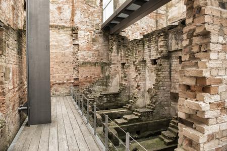 convict: Port Arthur the old convict colony and historic jail located in Tasmania, Australia Stock Photo