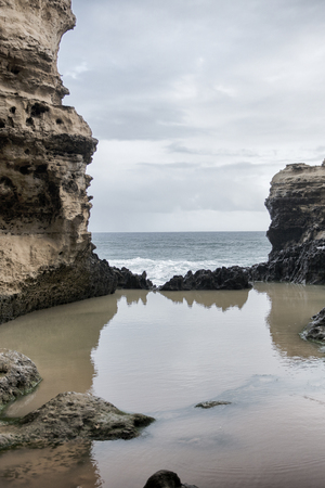 The Grotto in the Port Campbell National Park. Great Ocean Road in Victoria, Australia. Reklamní fotografie