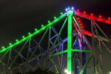 The iconic Story Bridge in Brisbane, Queensland, Australia