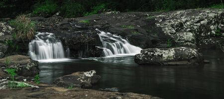 Beautiful and tranquil Gardners Falls in Maleny, Sunshine Coast