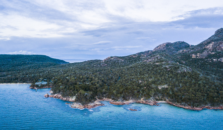 Coles Bay in Freycinet National Park, Tasmania