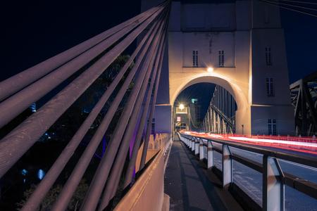 Walter Taylor Bridge also known as Indooroopilly Bridge in Brisbane, Queensland. 写真素材 - 98128876