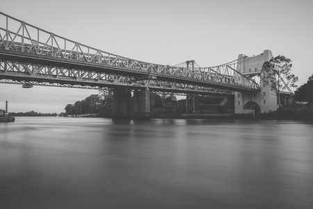 Walter Taylor Bridge also known as Indooroopilly Bridge in Brisbane, Queensland.